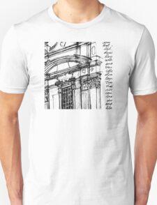 Complesso di San Firenze (black line) T-Shirt