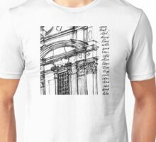 Complesso di San Firenze (black line) Unisex T-Shirt