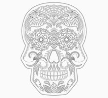 Color Me Day of the Dead Skull Kids Clothes
