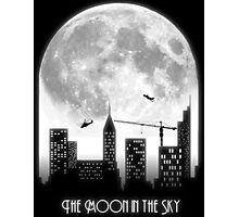 The Moon in the Sky Photographic Print