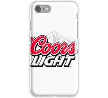 Coors Light [Beer] iPhone Case/Skin
