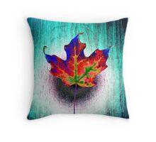Behold The Leaf Lord Throw Pillow