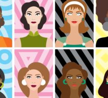 EMBRACING YOUR BEAUTY IN DIFFERENT FASHIONS Sticker