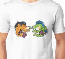 Furious Fink Face-Off! Unisex T-Shirt