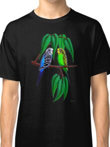 Budgies in the Gumtree Classic T-Shirt