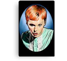 Mia Farrow - Rosemary's Baby Canvas Print
