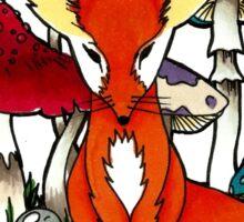 Little Fox by benocsart Sticker