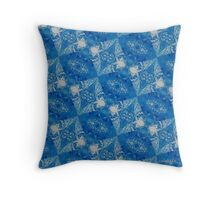 Abstract 340H Throw Pillow