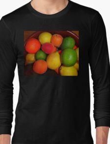 Christmas Fruit 2015 Long Sleeve T-Shirt