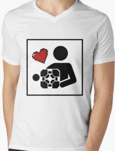 Companion For Life Mens V-Neck T-Shirt