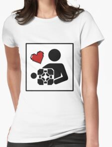 Companion For Life Womens Fitted T-Shirt
