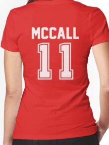 TEEN WOLF - SCOTT MCCALL #11 Women's Fitted V-Neck T-Shirt