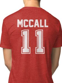 TEEN WOLF - SCOTT MCCALL #11 Tri-blend T-Shirt