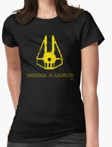 Star fighter legend Womens Fitted T-Shirt