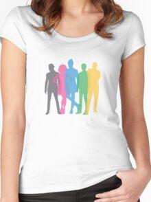 Pentatonix AMA's Emoji Women's Fitted Scoop T-Shirt