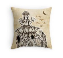 Brahman's Teachings Throw Pillow