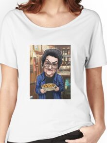 Betty Williams Turpin Hotpot Cleaning lady Mop Women's Relaxed Fit T-Shirt