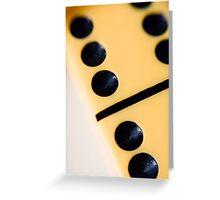 Domino Greeting Card