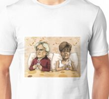 Ken and Deirdre Barlow Unisex T-Shirt
