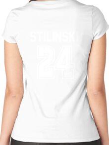 TEEN WOLF - STILES STILINSKI #24 Women's Fitted Scoop T-Shirt