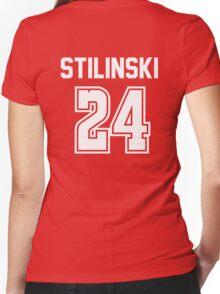 TEEN WOLF - STILES STILINSKI #24 Women's Fitted V-Neck T-Shirt