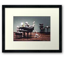 Play it again, Sam Framed Print