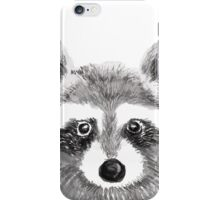 The Innocent Raccoon iPhone Case/Skin