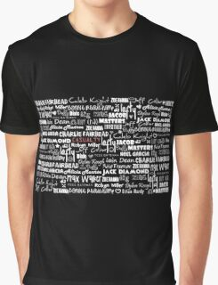 Casualty Characters [3] Graphic T-Shirt