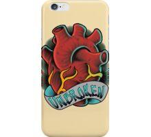 Unbroken Hearted iPhone Case/Skin