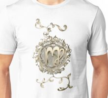 Virgo Floral Zodiac Design BRONZE Unisex T-Shirt