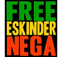Free Eskinder Nega Photographic Print