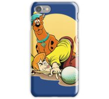 Scooby Doo and Shaggy Billiard iPhone Case/Skin