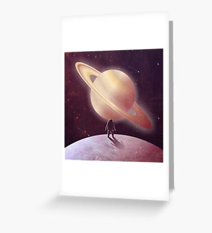 A View From Enceladus Greeting Card