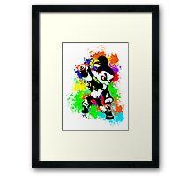 Inkling Boy - Splatter Framed Print