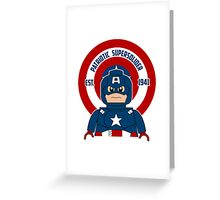 Patriotic Supersolider Greeting Card