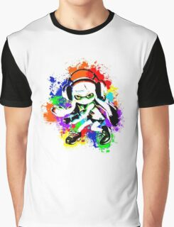 Inkling Girl - Splatter Graphic T-Shirt