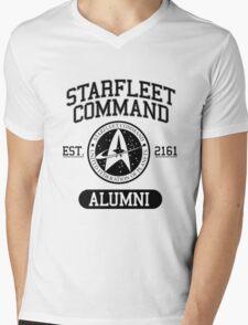 Starfleet Command Mens V-Neck T-Shirt