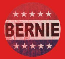 Bernie 2016 Shirt - Retro Bernie Sanders Vote Button T Shirt  One Piece - Short Sleeve