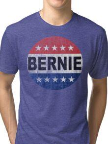 Bernie 2016 Shirt - Retro Bernie Sanders Vote Button T Shirt  Tri-blend T-Shirt