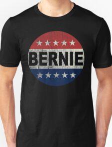 Bernie 2016 Shirt - Retro Bernie Sanders Vote Button T Shirt  Unisex T-Shirt