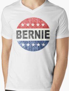 Bernie 2016 Shirt - Retro Bernie Sanders Vote Button T Shirt  Mens V-Neck T-Shirt