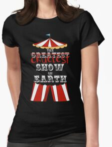 Cruelest Show on Earth Womens Fitted T-Shirt