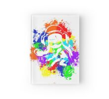 Inkling Girl - Splatter v2 Hardcover Journal