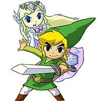 Zelda Link Photographic Print
