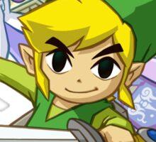 Zelda Link Sticker