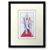 The Hierophant from The BirdQueen Tarot Framed Print