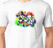 Inkling Boy and Girl - Splatter Unisex T-Shirt
