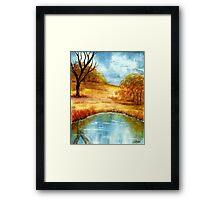 My Landscape Paradise Framed Print