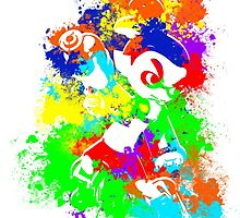 Inkling Boy - Splatter v2 by LauryQuinn