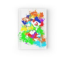 Inkling Boy - Splatter v2 Hardcover Journal